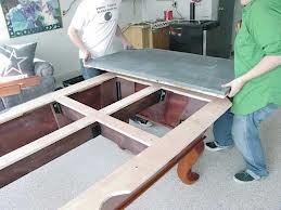 Pool table moves in Carlsbad California